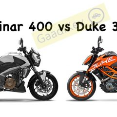 Bajaj Dominar 400 vs KTM Duke 390 Specs Comparison