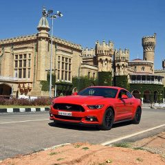 Iconic Ford Mustang Arrives in Bengaluru