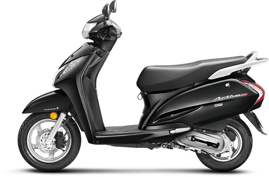 Honda Activa 125 Black Color