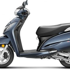 Honda Activa 125 Colors: Red, Black, White, Blue