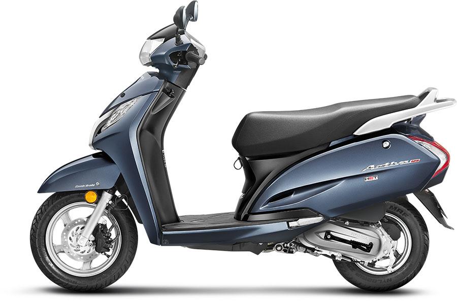 Honda Activa 125 Midnight Blue Color