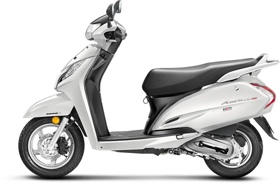 Honda Activa 125 White Color