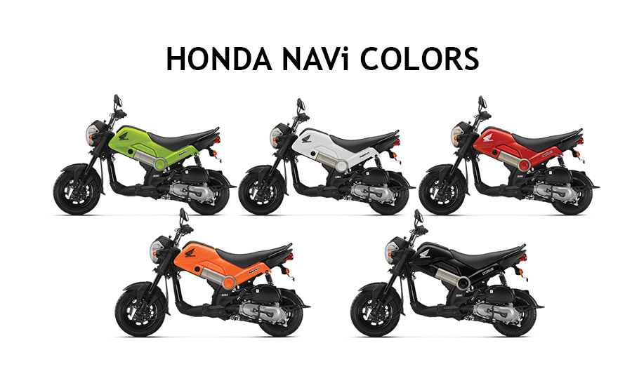 Honda NAVi Color Variants