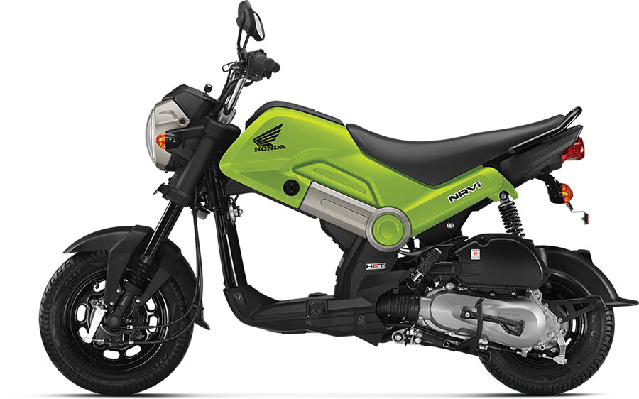Honda NAVI Hopper Green Color