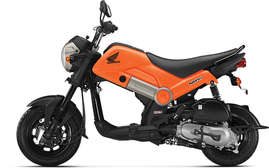 Honda NAVI Sparky Orange Color (