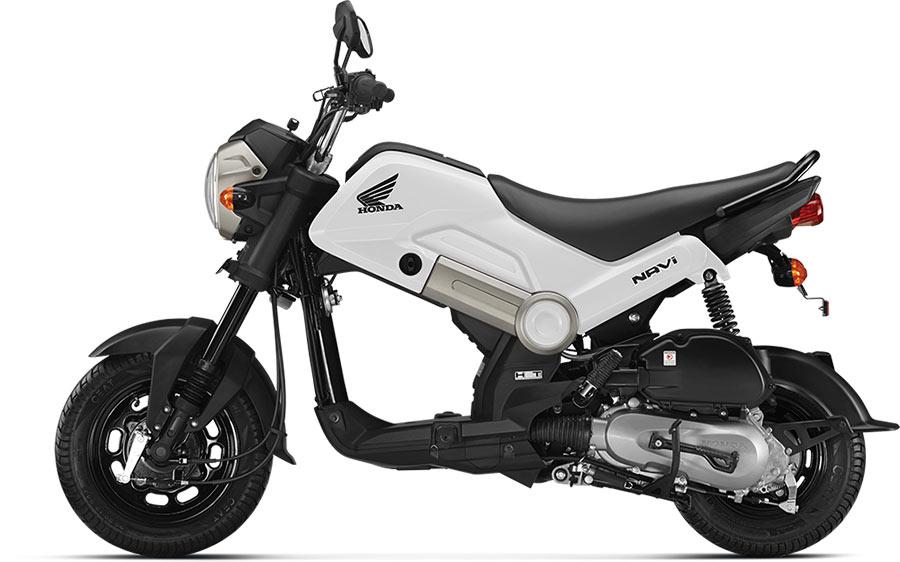 Honda NAVi White Color (Shasta White Color)