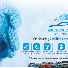 Hyundai Winter Car Care Camp from December 15th to 20th