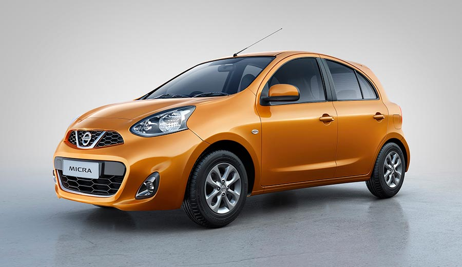 New Nissan Micra Sunshine Orange Color