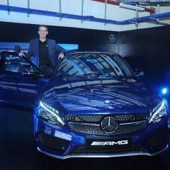 Mercedes-Benz drives in the pacey AMG C 43 4MATIC