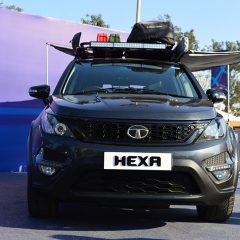 Tata Hexa Pickup Truck Concept in Making