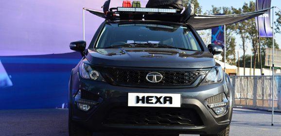 Tata Hexa Pickup Truck Concept in Making