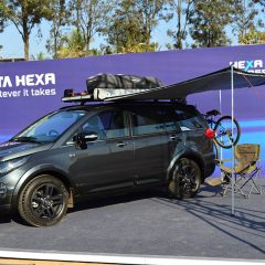 Tata Hexa Customisation Kits – Tuff, Luxe and Expedition