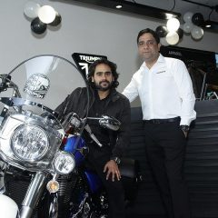 Triumph Motorcycles celebrates 3 years in India; Opens 14th World Class Showroom