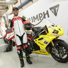 Triumph Motorcycles' Daytona 675R in JK Tyre Racing Championship 2016
