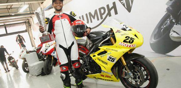 Triumph Motorcycles' Daytona 675R in JK Tyre Racing Championship 2016