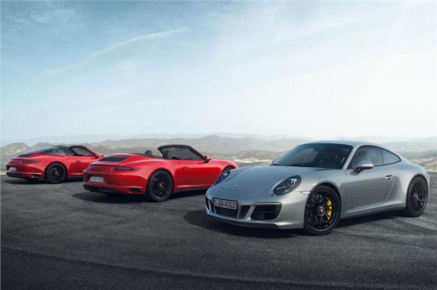 2017 Porsche 911 GTS Lineup