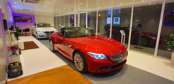 BMW launches BMW Mobile Studio in Salem, India