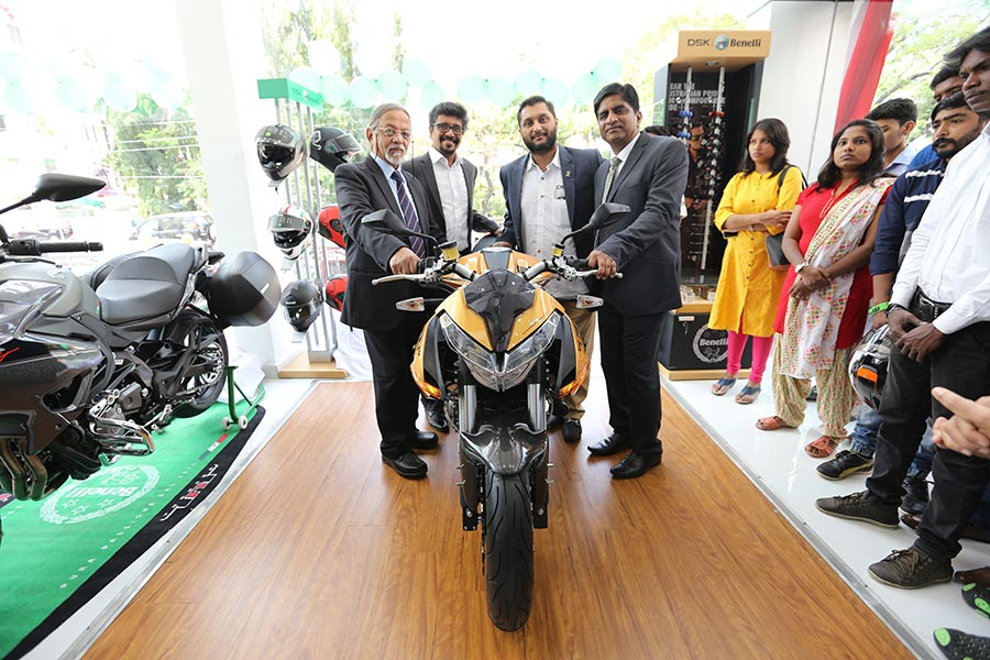 DSK Benelli Showroom in Chennai