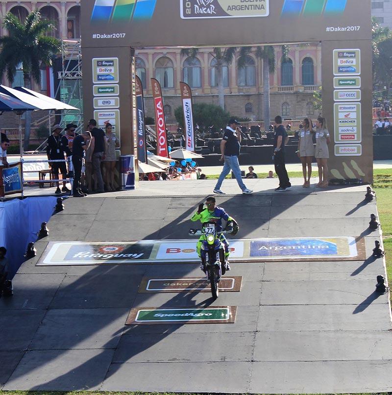 Dakar Rally Picture - TVS