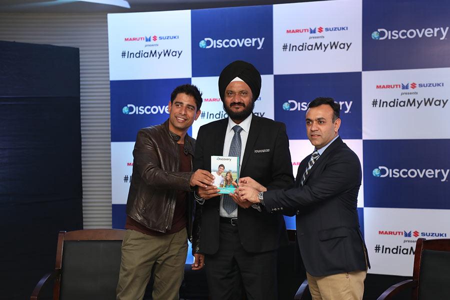 Discovery Partners with Maruti Suzuki