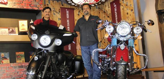 Indian Springfield and Chieftain Dark Horse Motorcyles launched in Bengaluru
