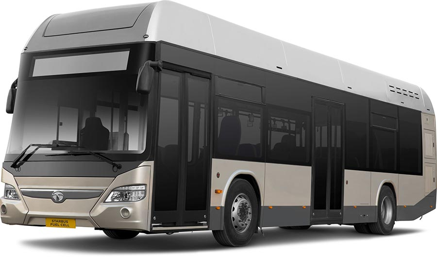Tata Motors Fuel Cell Bus ( Electric Bus)