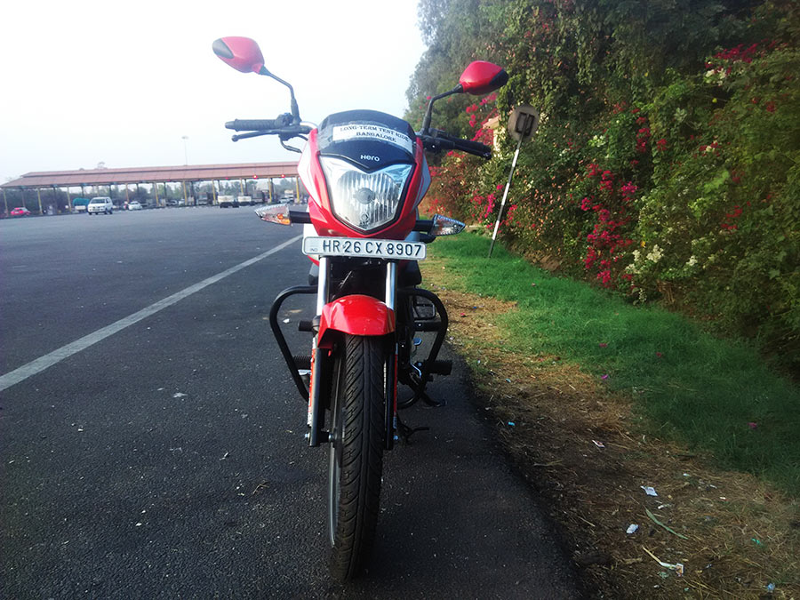 Hero Splendor 110 Front View Angle