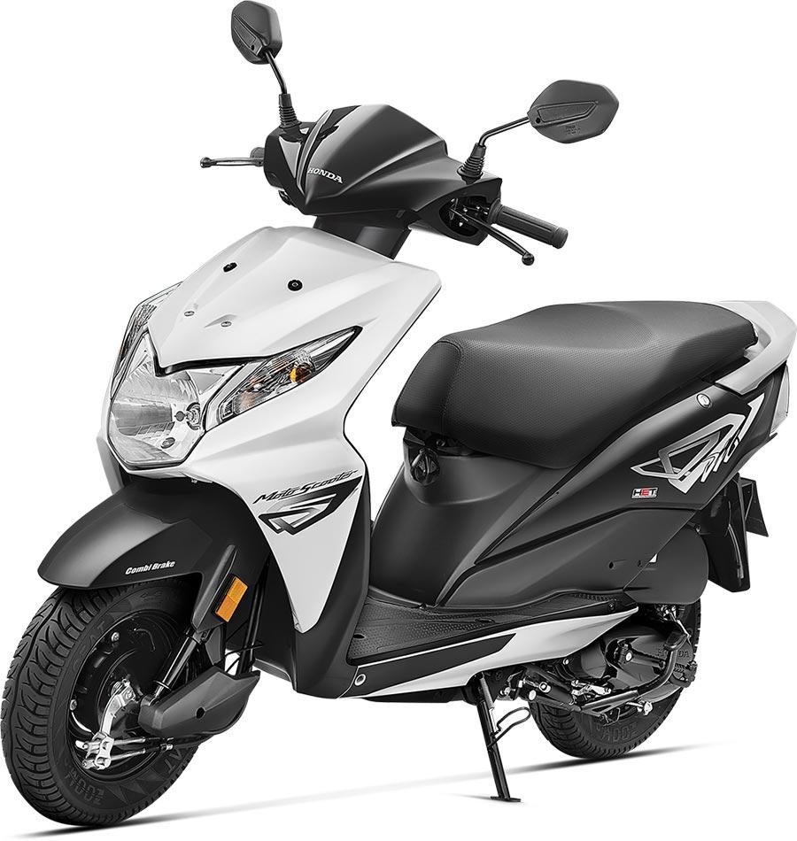 Honda Dio in Black Color