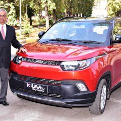 Mahindra KUV100 Anniversary Edition Launched in India