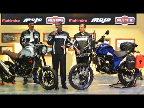 Mahindra Mojo Adventure Displayed at Auto Expo