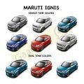 Maruti Ignis Colors ( Single tone and Dual tone colors)
