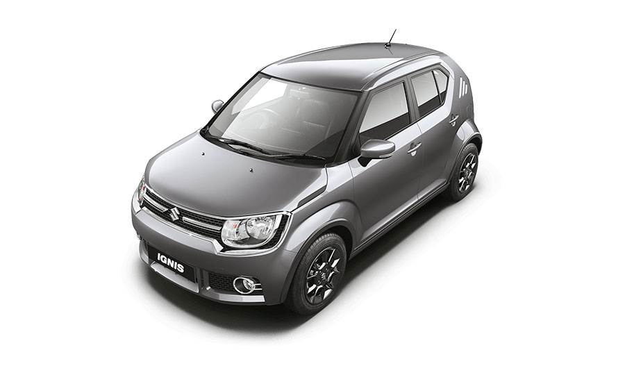 Maruti Ignis in Glistening Grey Color