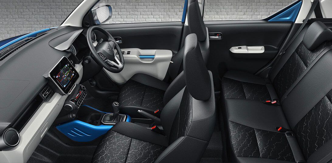 Maruti Ignis Seating Capacity and Interiors