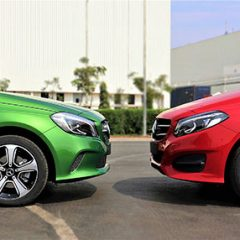 Mercedes-Benz A-Class and B-Class Night Edition launched