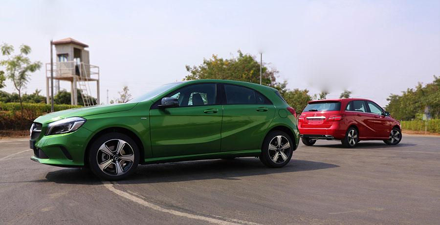 Mercedes-Benz-A-Class-and-B-Class-'Night-Edition'