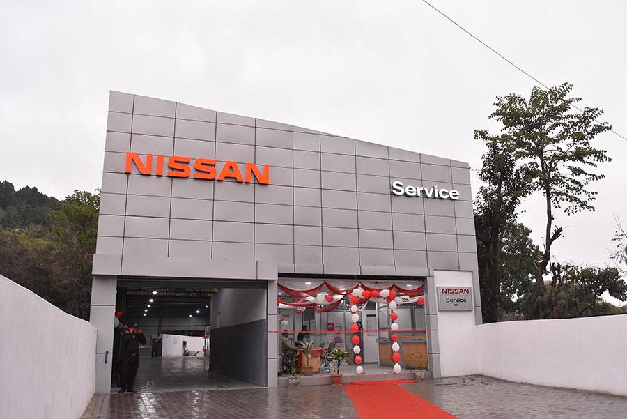 Nissan Service Photo