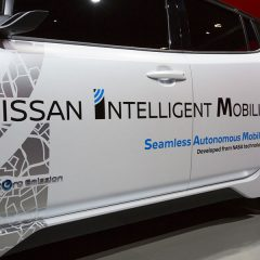 Nissan CEO Carlos Ghosn announces New Technologies at CES 2017