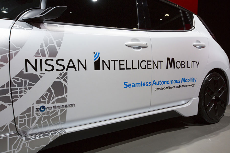 Nissan Intelligent Mobility Showcased at CES 2017
