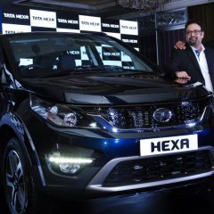 Tata Hexa launched in India at INR 12.25 lakhs ( ex-showroom Bangalore)