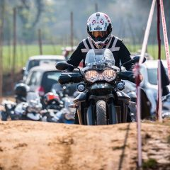 A thunderous show by Triumph Motorcycles at  Triumph Tiger Training Academy 2017