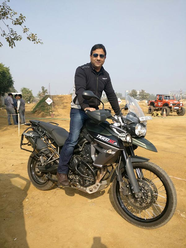Vimal Sumbly of Triumph Motorcycles