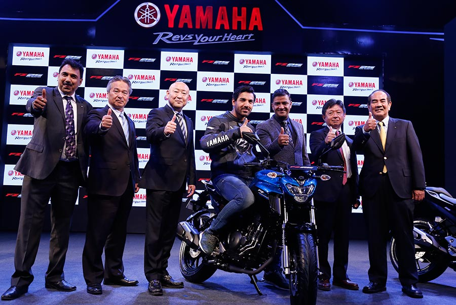 Yamaha FZ25 Launch in India