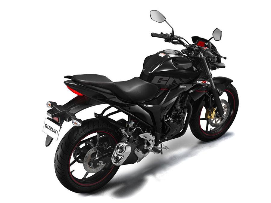 2017 Suzuki Gixxer Black Color