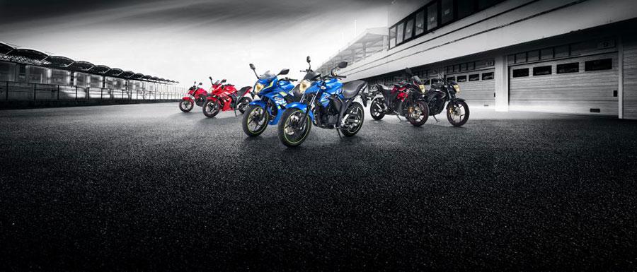 2017 Suzuki Gixxer Range of Motorcycles