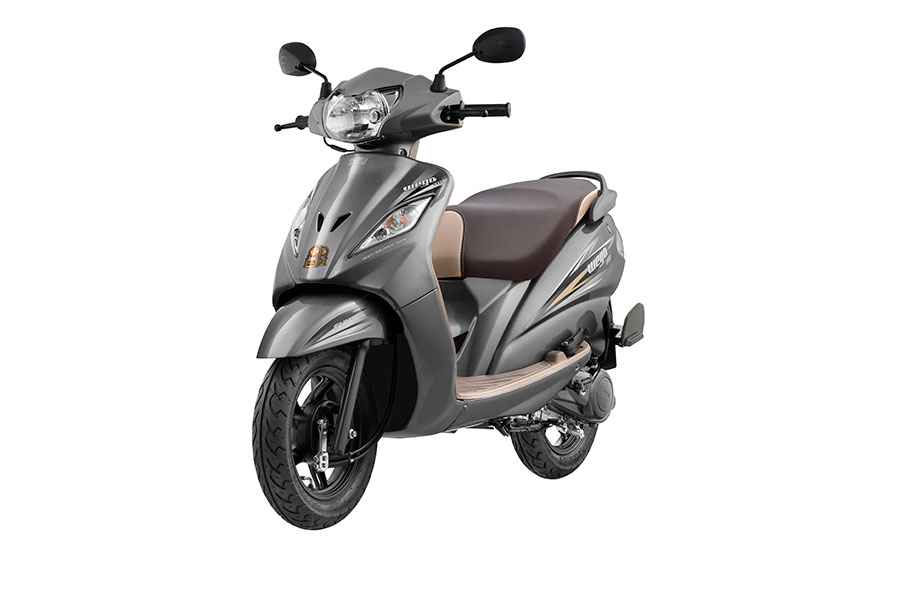 2017 TVS Wego Grey Color Added
