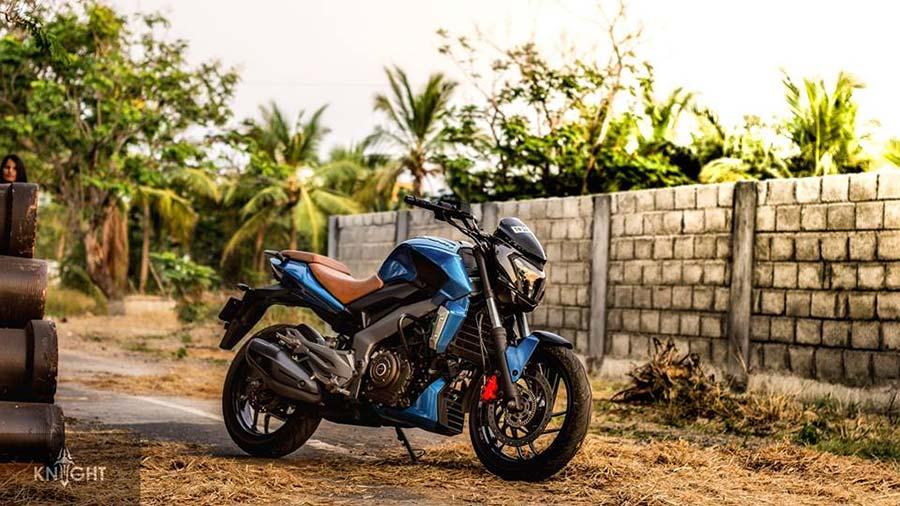 Bajaj Dominar 400 Custom Photo