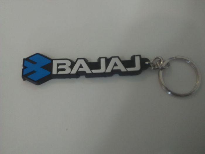 Keychains with Bajaj Logo
