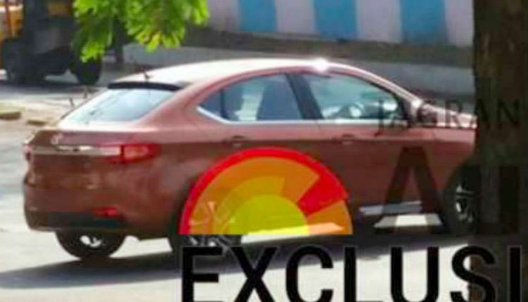 Exclusive Tata Tigor Pictures Captured
