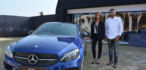 Guwahati becomes the first stop for Mercedes-Benz Luxe Drive 2017