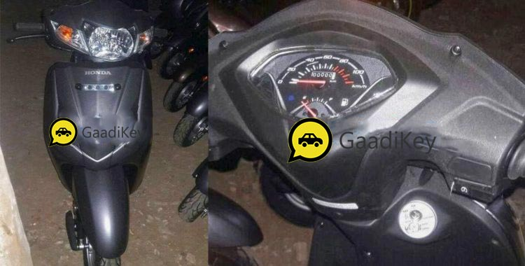 2017 Honda Activa 4G Spotted